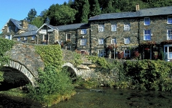 Old stone bridge, Beddgelert , Anglesey and Snowdonia package