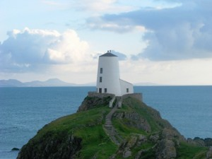 Llanddwyn Island and lighthouse