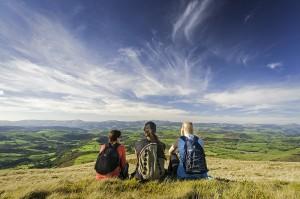 Glyndŵr's Way © Visit Wales